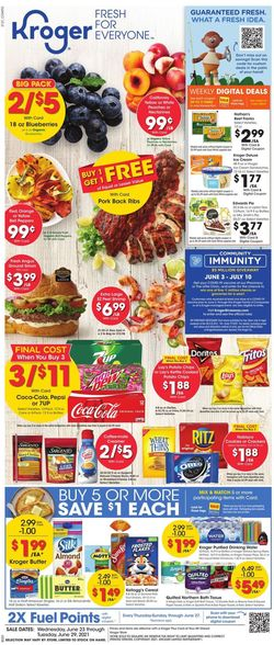 Catalogue Kroger from 06/23/2021