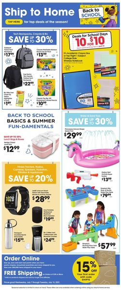 Catalogue Kroger from 07/07/2021