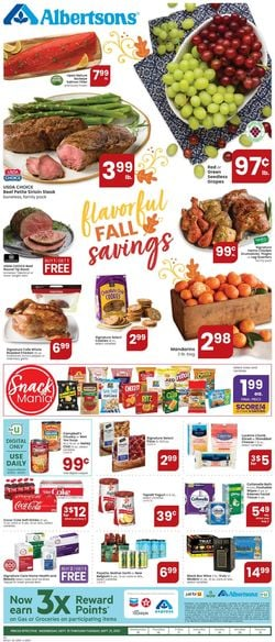 Catalogue Albertsons from 09/15/2021