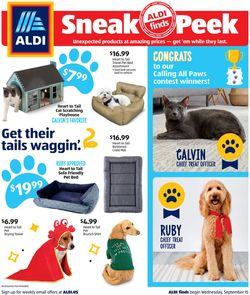 Catalogue ALDI from 09/15/2021