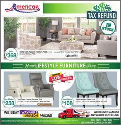 Catalogue American Furniture Warehouse from 03/11/2021