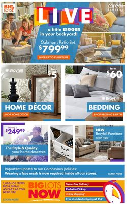 Catalogue Big Lots from 03/08/2021