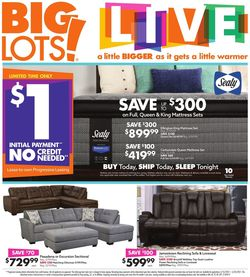 Catalogue Big Lots from 03/10/2021