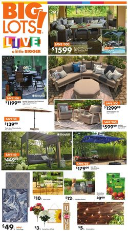 Catalogue Big Lots from 03/20/2021