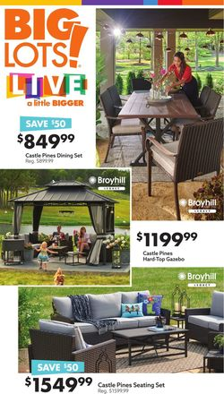 Catalogue Big Lots from 03/27/2021