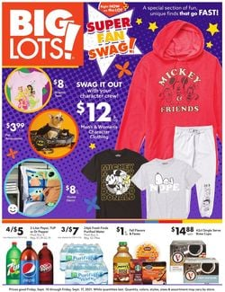 Catalogue Big Lots from 09/10/2021