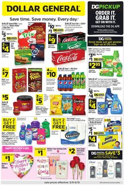 Catalogue Dollar General from 05/09/2021
