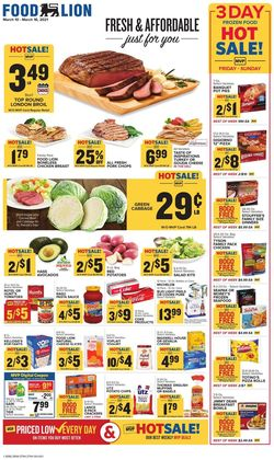 Catalogue Food Lion from 03/10/2021
