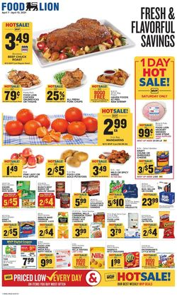 Catalogue Food Lion from 04/07/2021