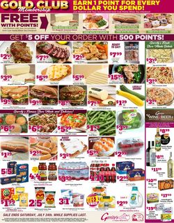 Catalogue Gerrity's Supermarkets from 07/18/2021