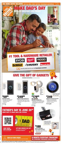 Catalogue Home Depot from 06/10/2021
