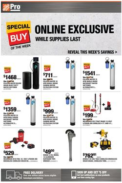 Catalogue Home Depot from 07/19/2021