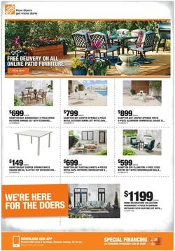 Catalogue Home Depot from 08/19/2021