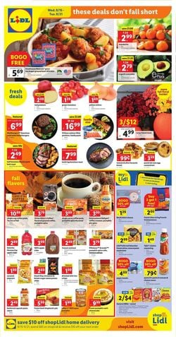 Catalogue Lidl from 09/15/2021