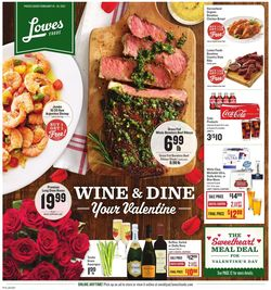 Catalogue Lowes Foods from 02/10/2021