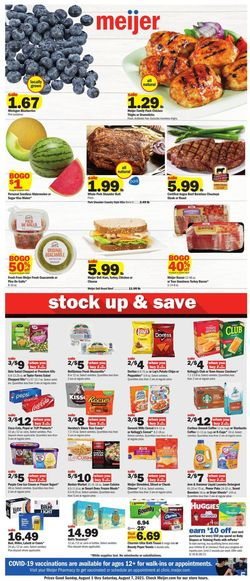 Catalogue Meijer from 08/01/2021