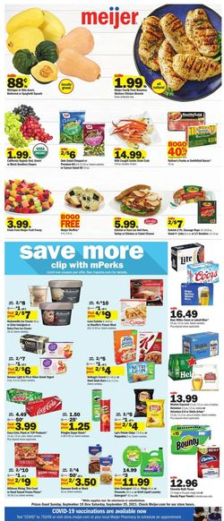Catalogue Meijer from 09/19/2021