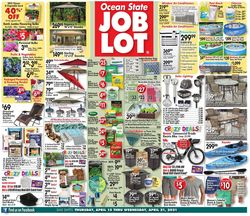 Catalogue Ocean State Job Lot from 04/15/2021