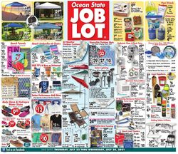 Catalogue Ocean State Job Lot from 07/22/2021