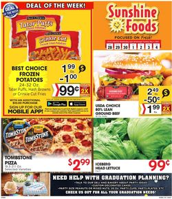 Catalogue Sunshine Foods from 04/28/2021