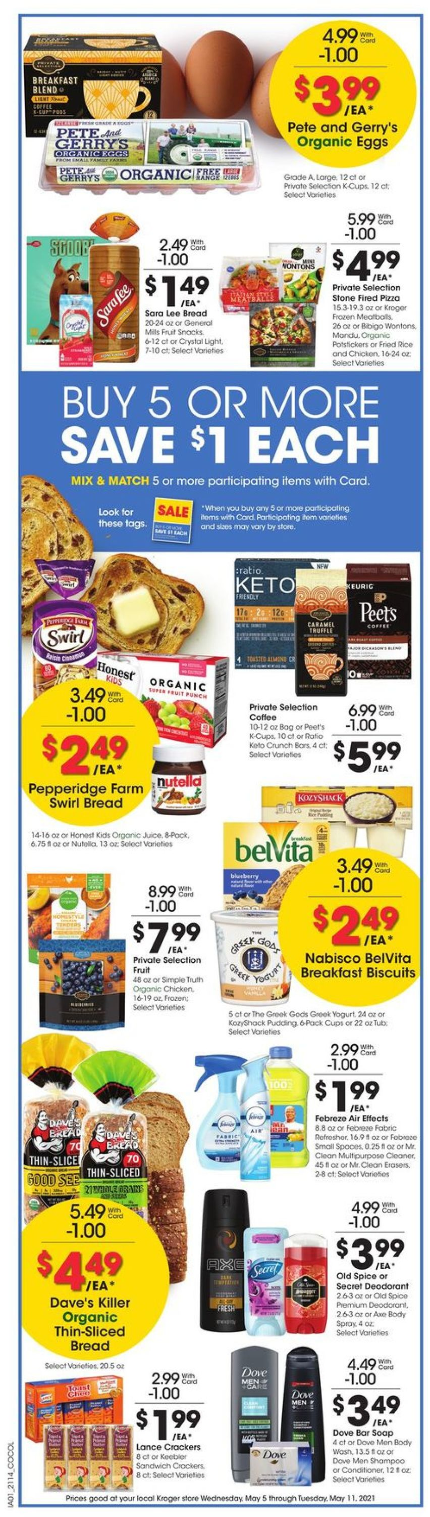 Catalogue Kroger from 05/05/2021