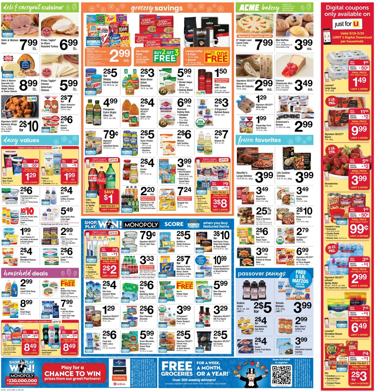 Catalogue Acme from 03/19/2021