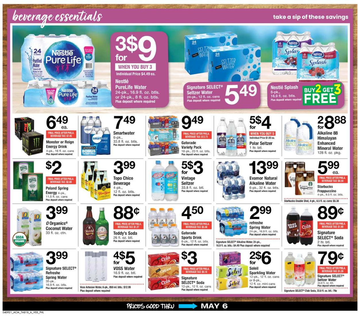 Catalogue Acme from 04/09/2021