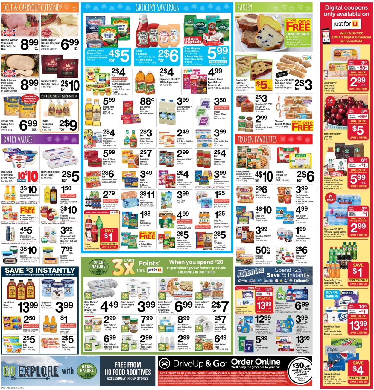 Catalogue Acme from 07/16/2021