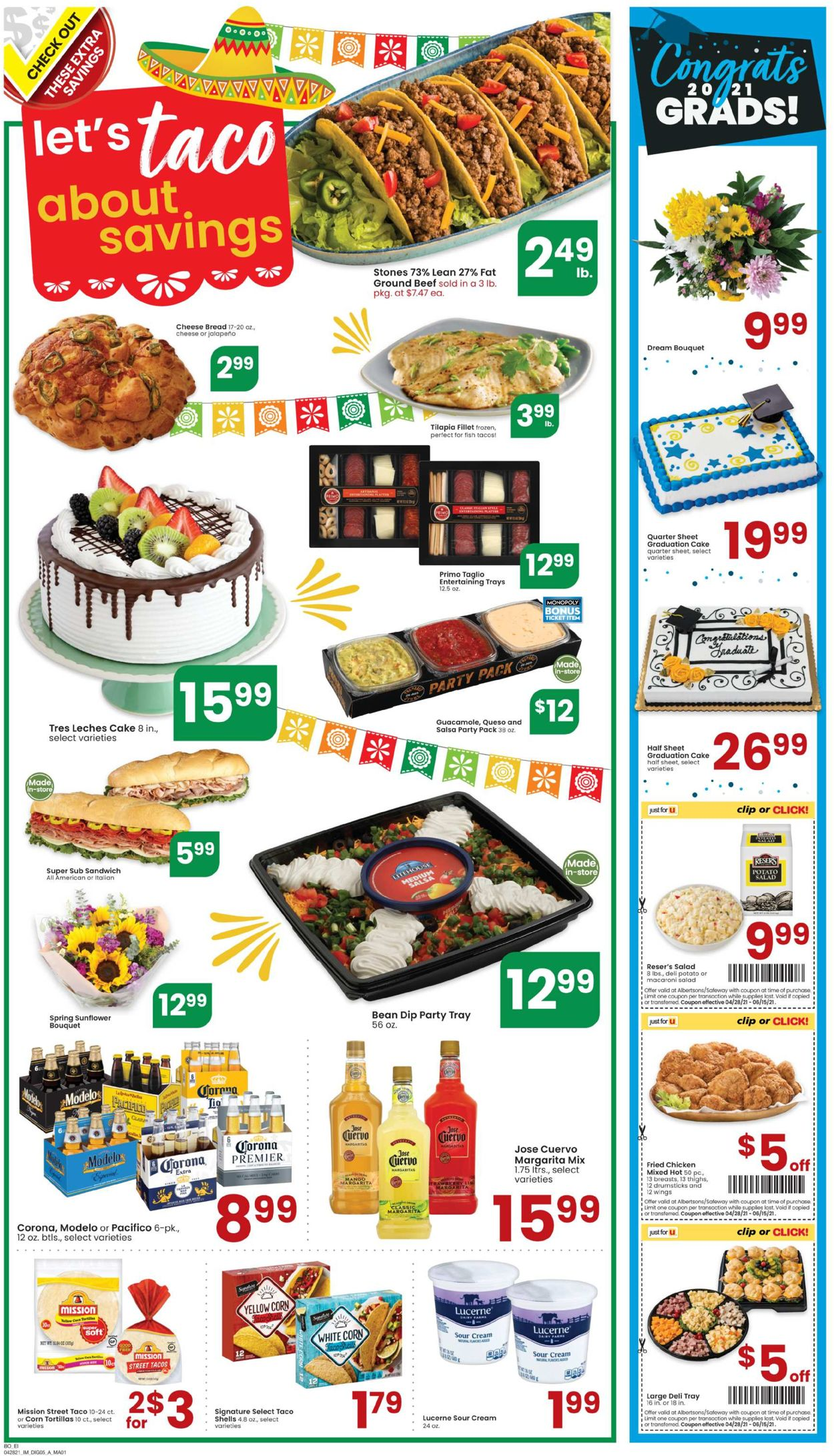 Catalogue Albertsons from 04/28/2021