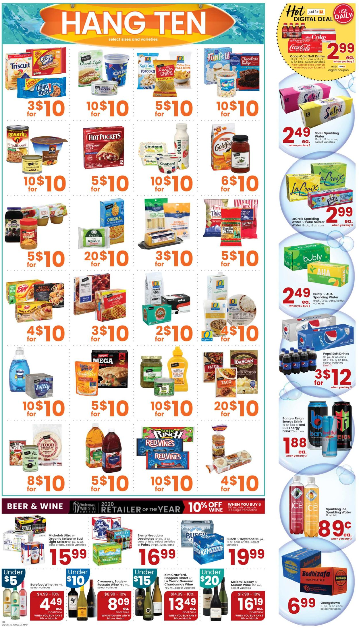 Catalogue Albertsons from 07/21/2021