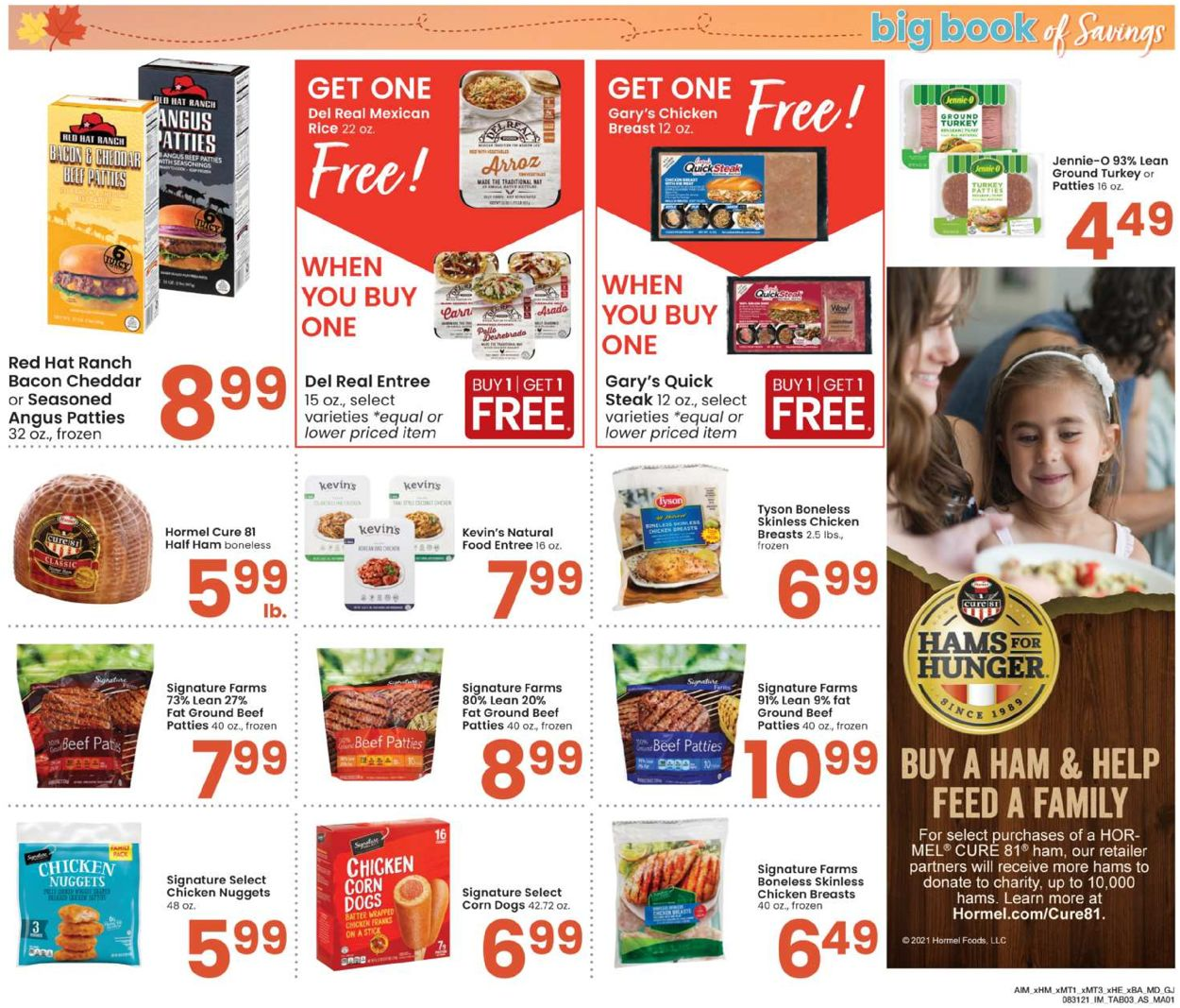 Catalogue Albertsons from 08/31/2021