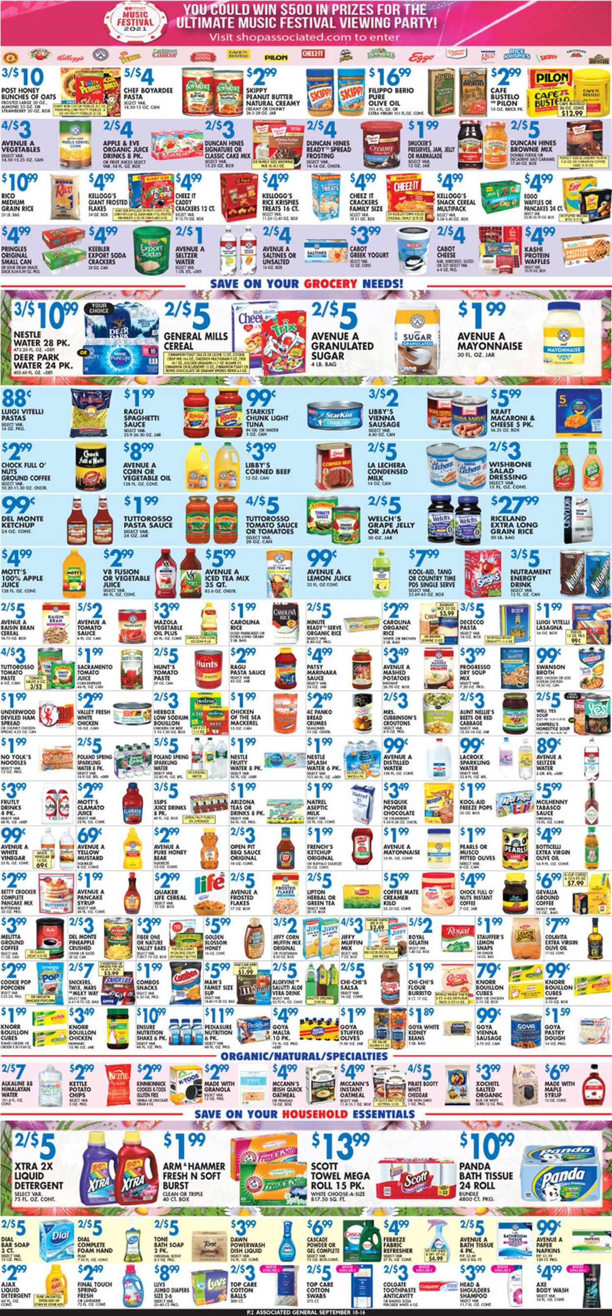 Catalogue Associated Supermarkets from 09/10/2021