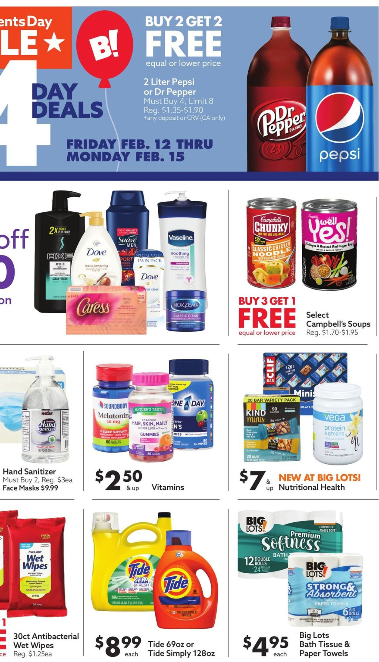 Catalogue Big Lots from 02/12/2021
