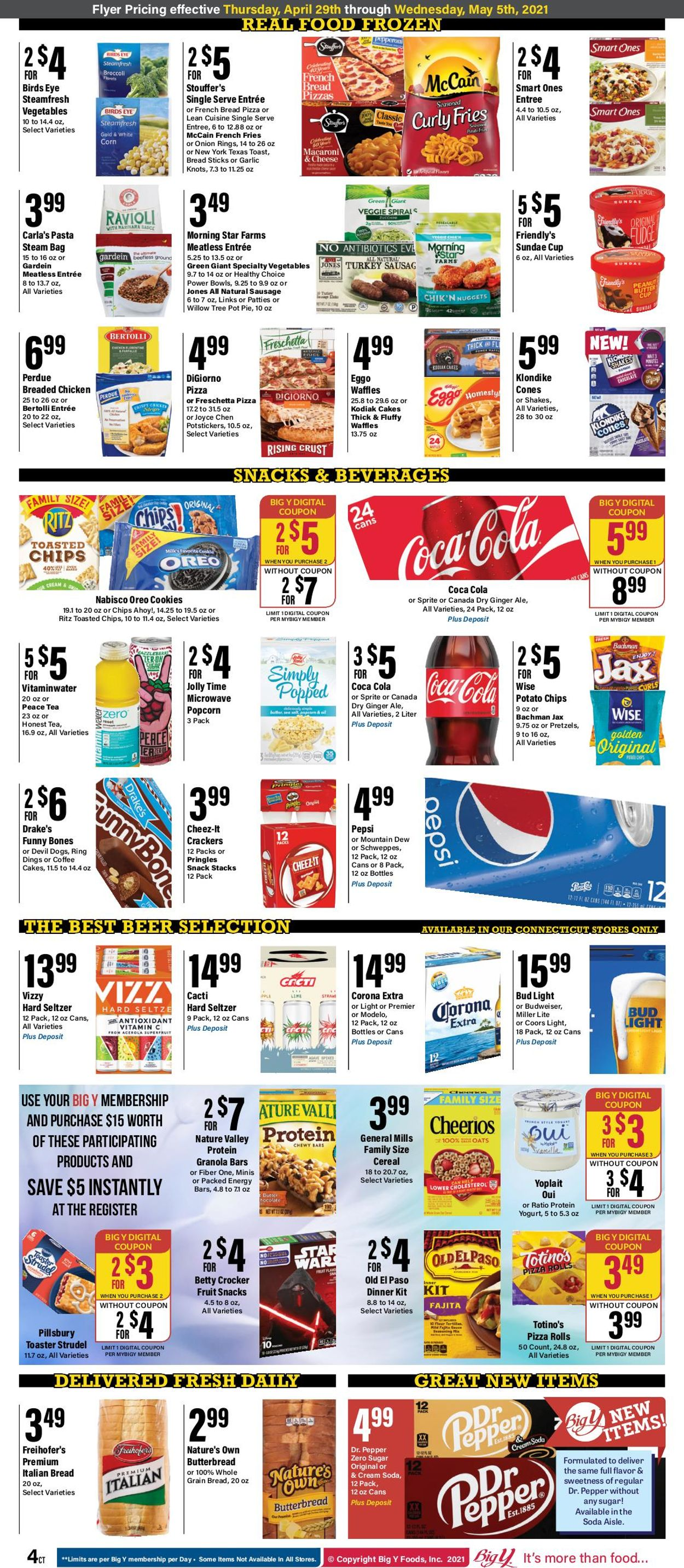 Catalogue Big Y from 04/29/2021