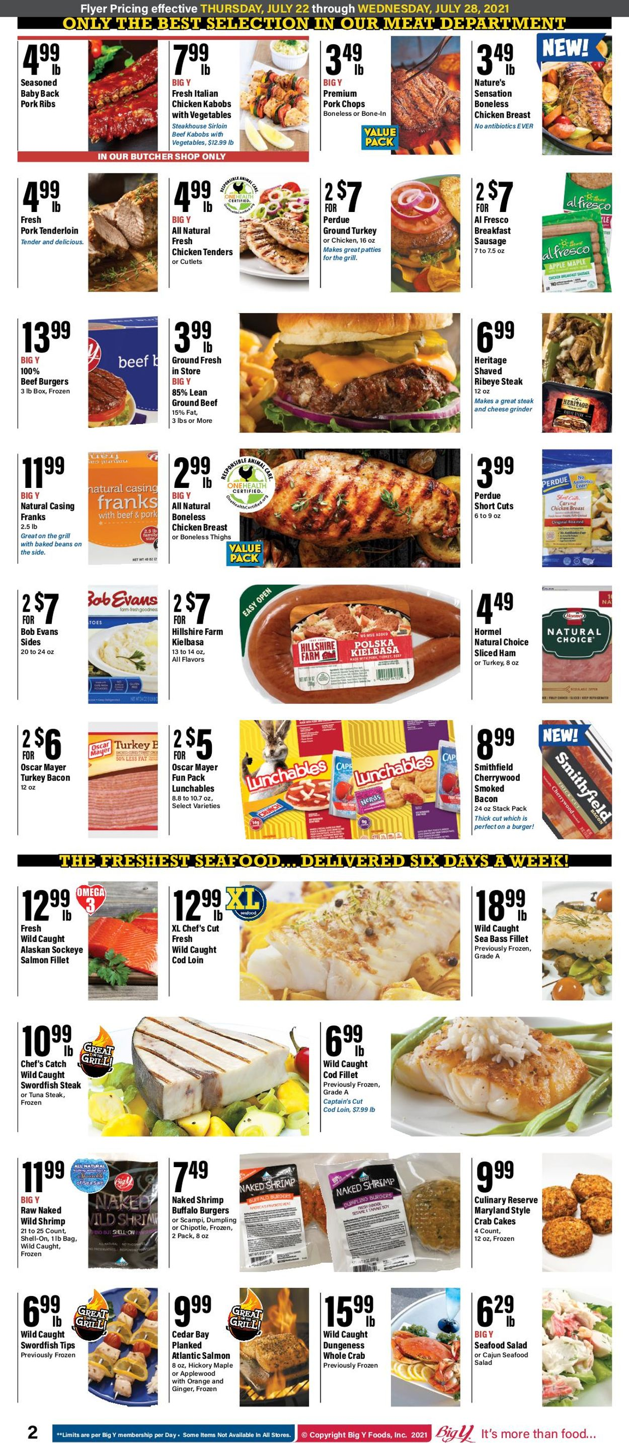 Catalogue Big Y from 07/22/2021