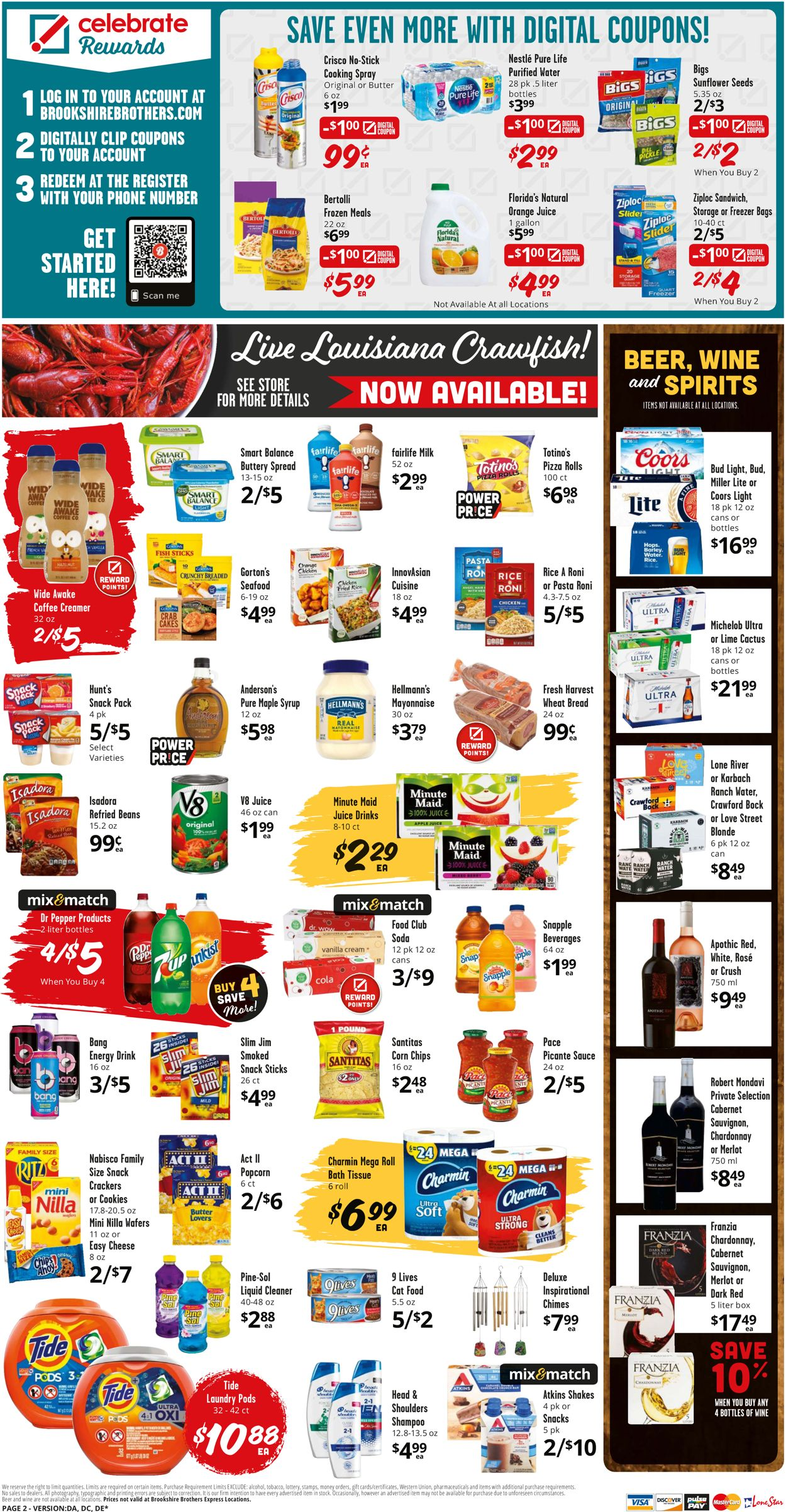 Catalogue Brookshire Brothers from 04/21/2021