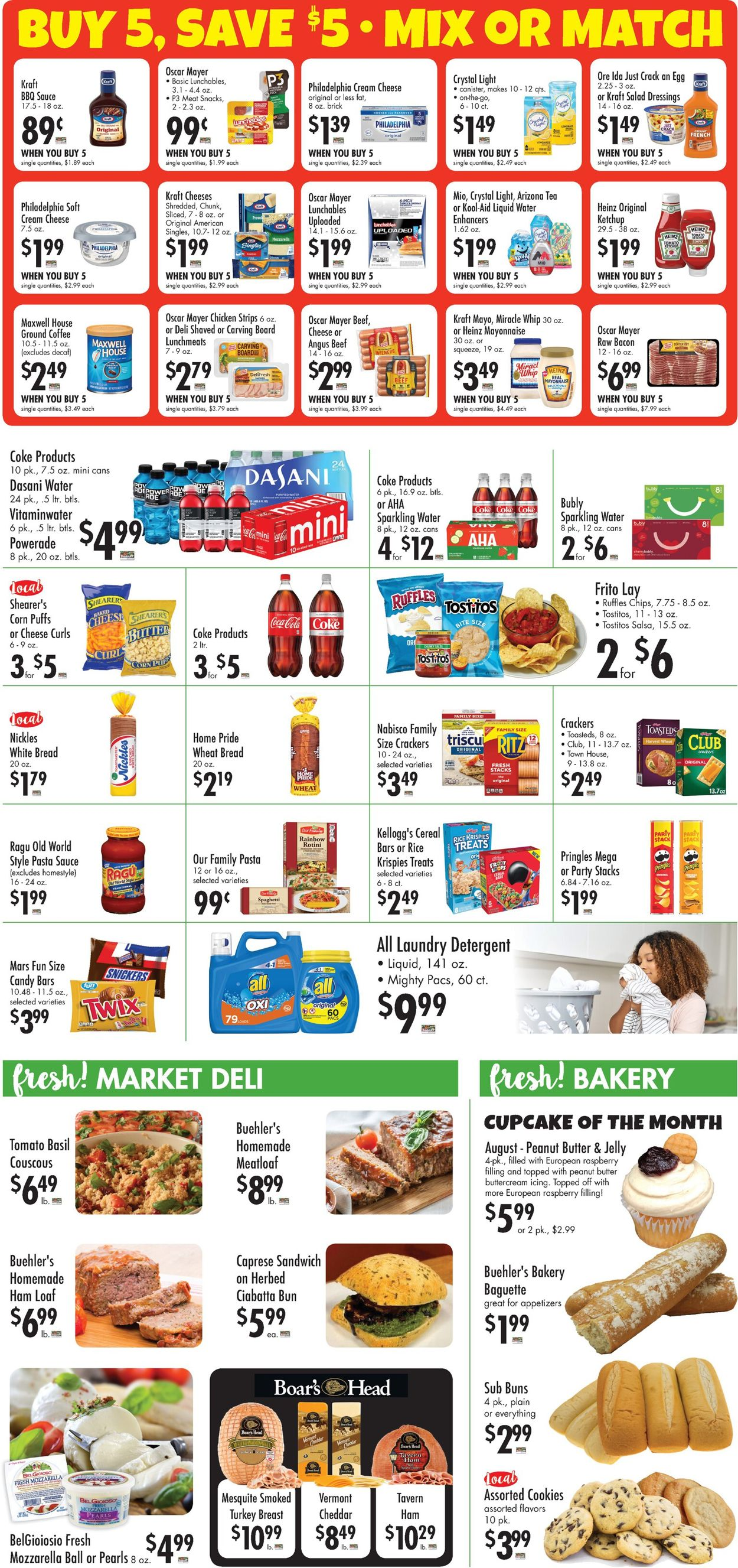 Catalogue Buehler's Fresh Foods from 08/04/2021