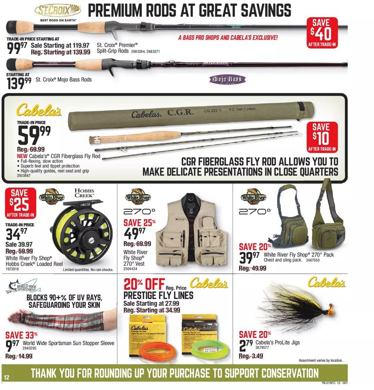 Catalogue Cabela's from 03/11/2021