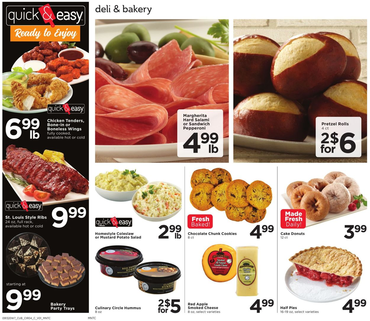 Catalogue Cub Foods from 09/13/2020