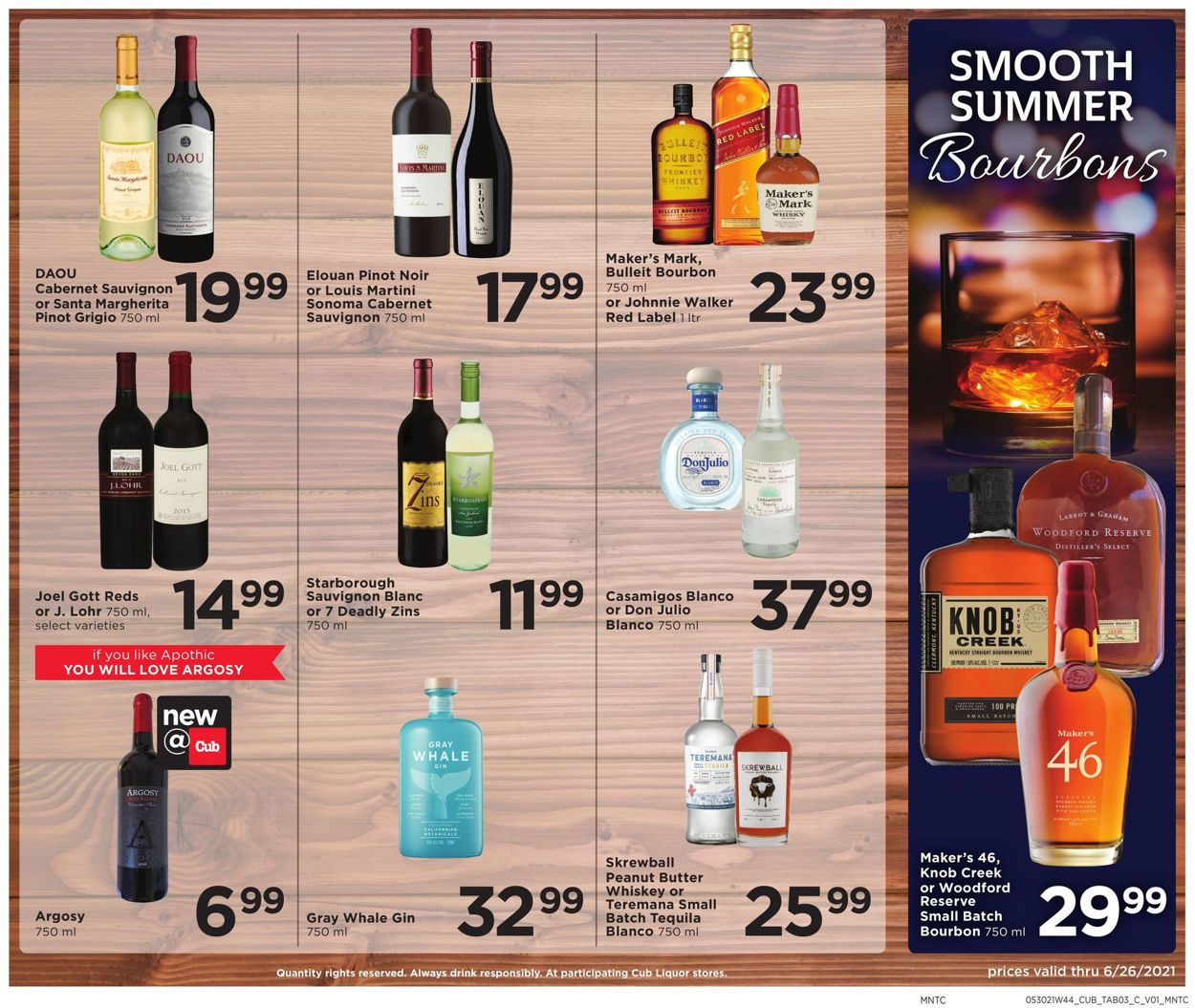 Catalogue Cub Foods from 06/14/2021
