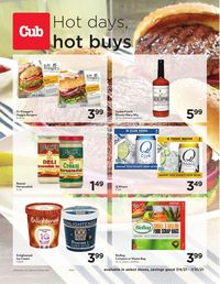 Catalogue Cub Foods from 07/04/2021