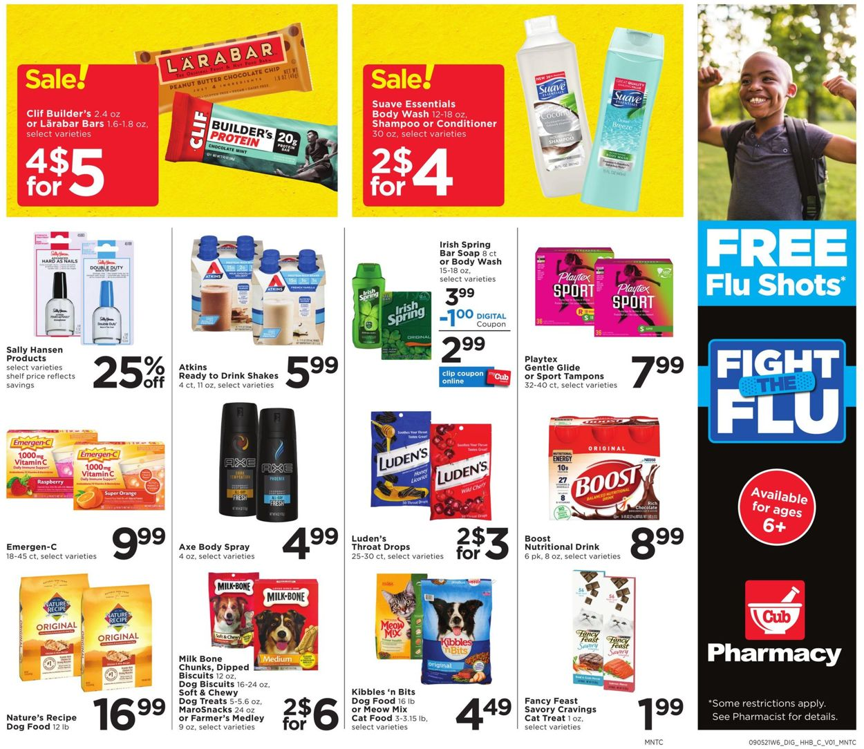 Catalogue Cub Foods from 09/05/2021