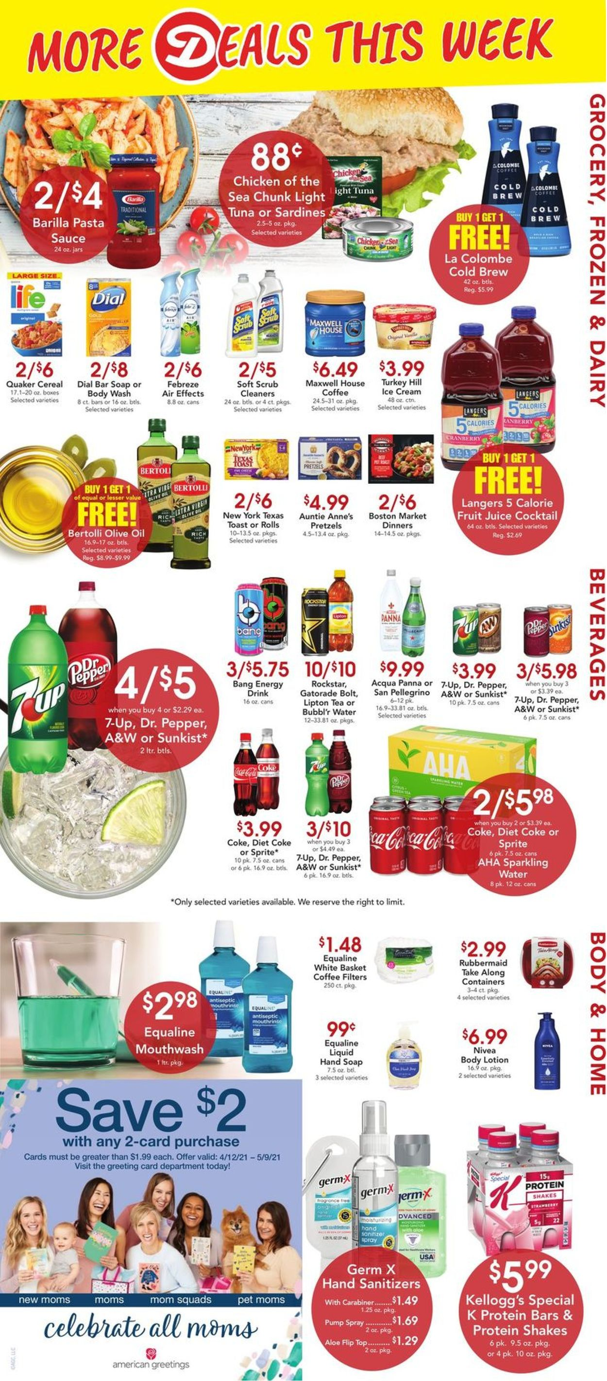 Catalogue Dierbergs from 04/20/2021