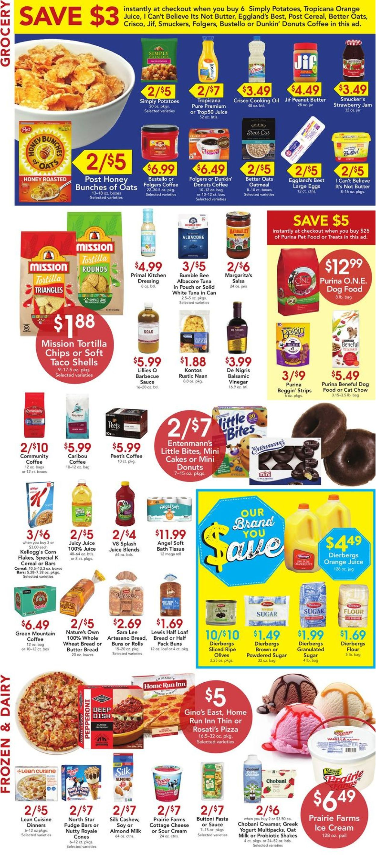 Catalogue Dierbergs from 05/04/2021
