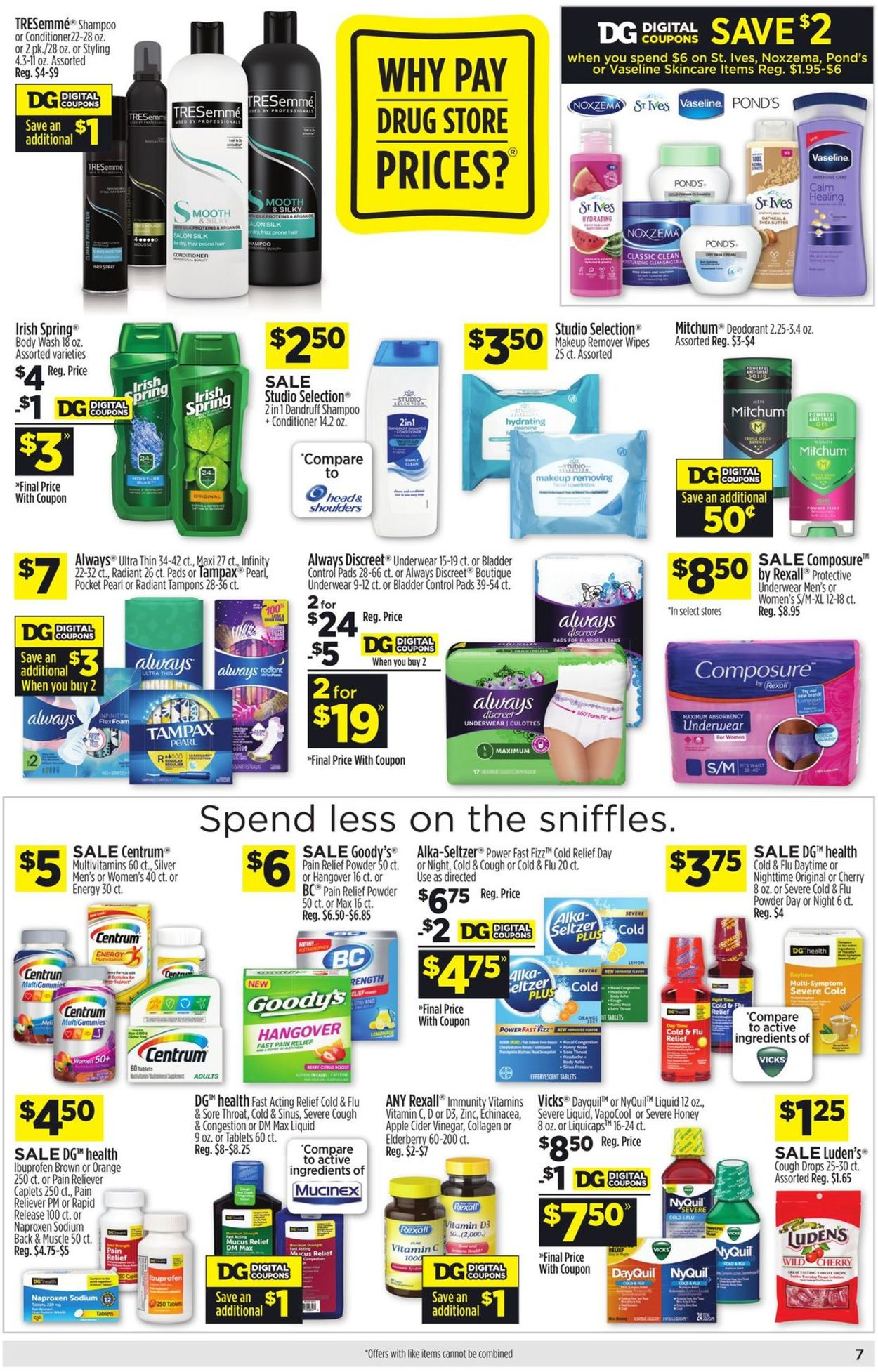 Catalogue Dollar General from 12/27/2020