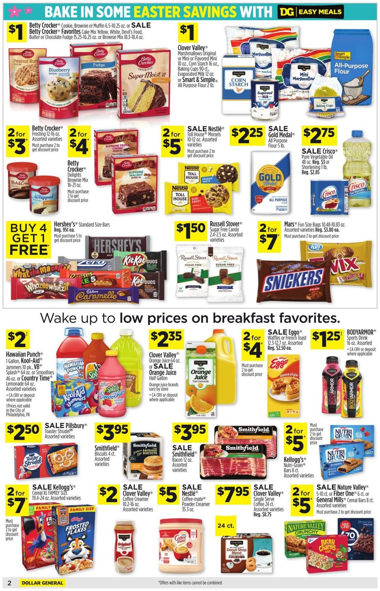 Catalogue Dollar General - Easter 2021 Ad from 03/21/2021