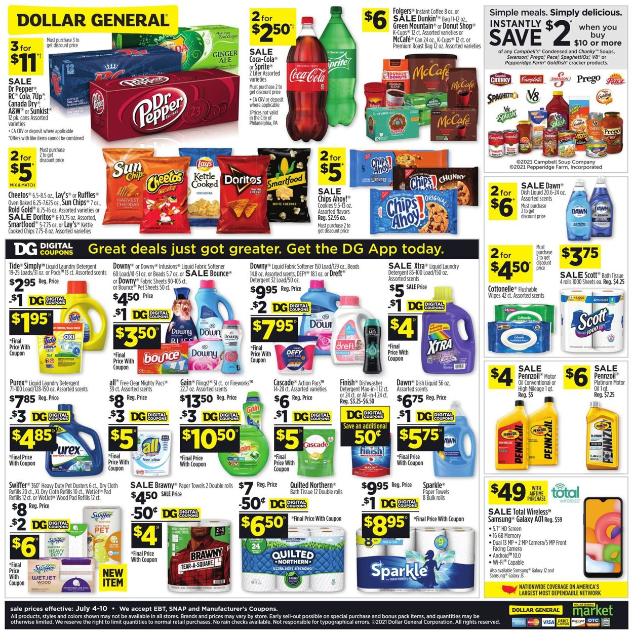 Catalogue Dollar General from 07/04/2021