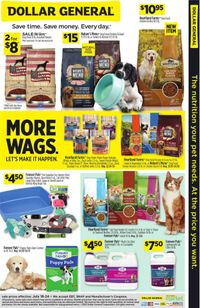 Catalogue Dollar General from 07/18/2021