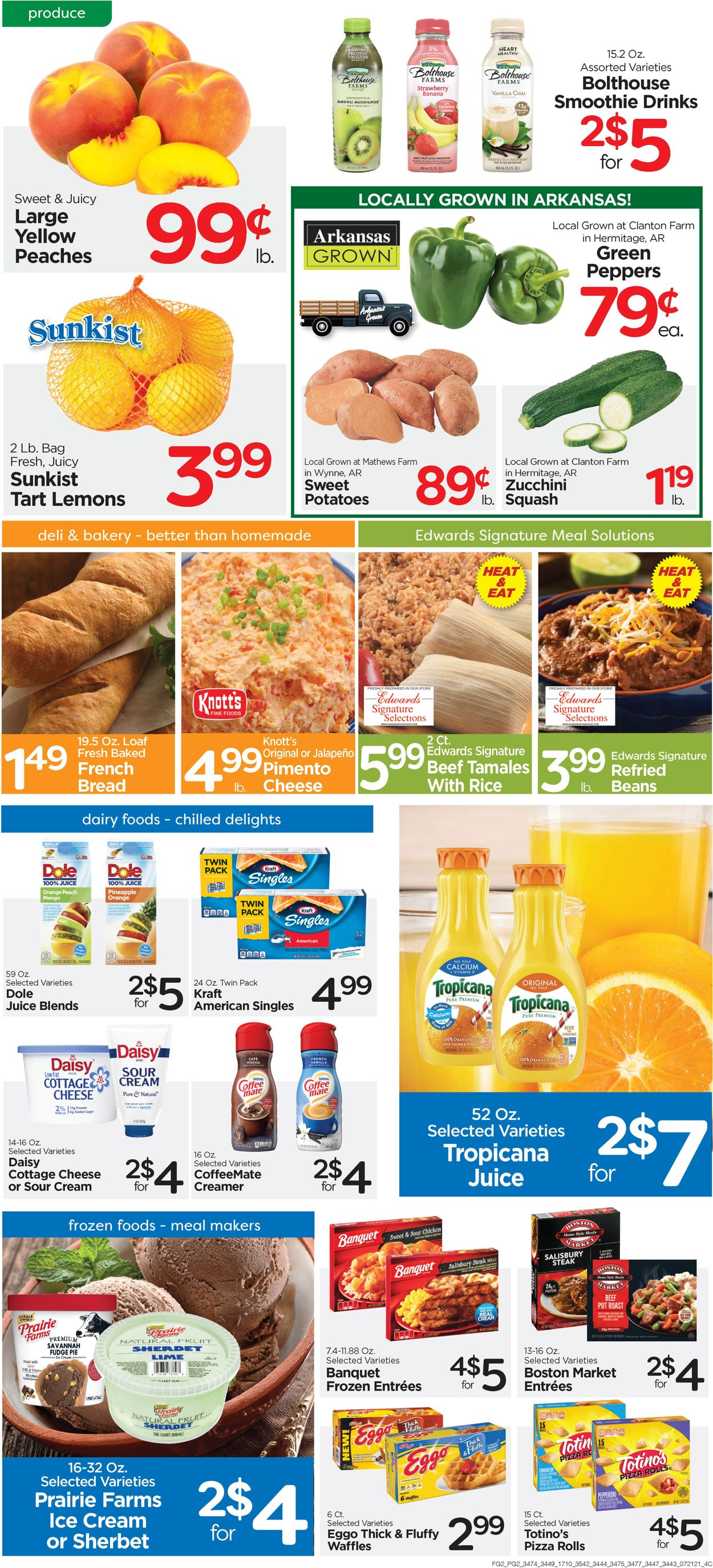 Catalogue Edwards Food Giant from 07/21/2021