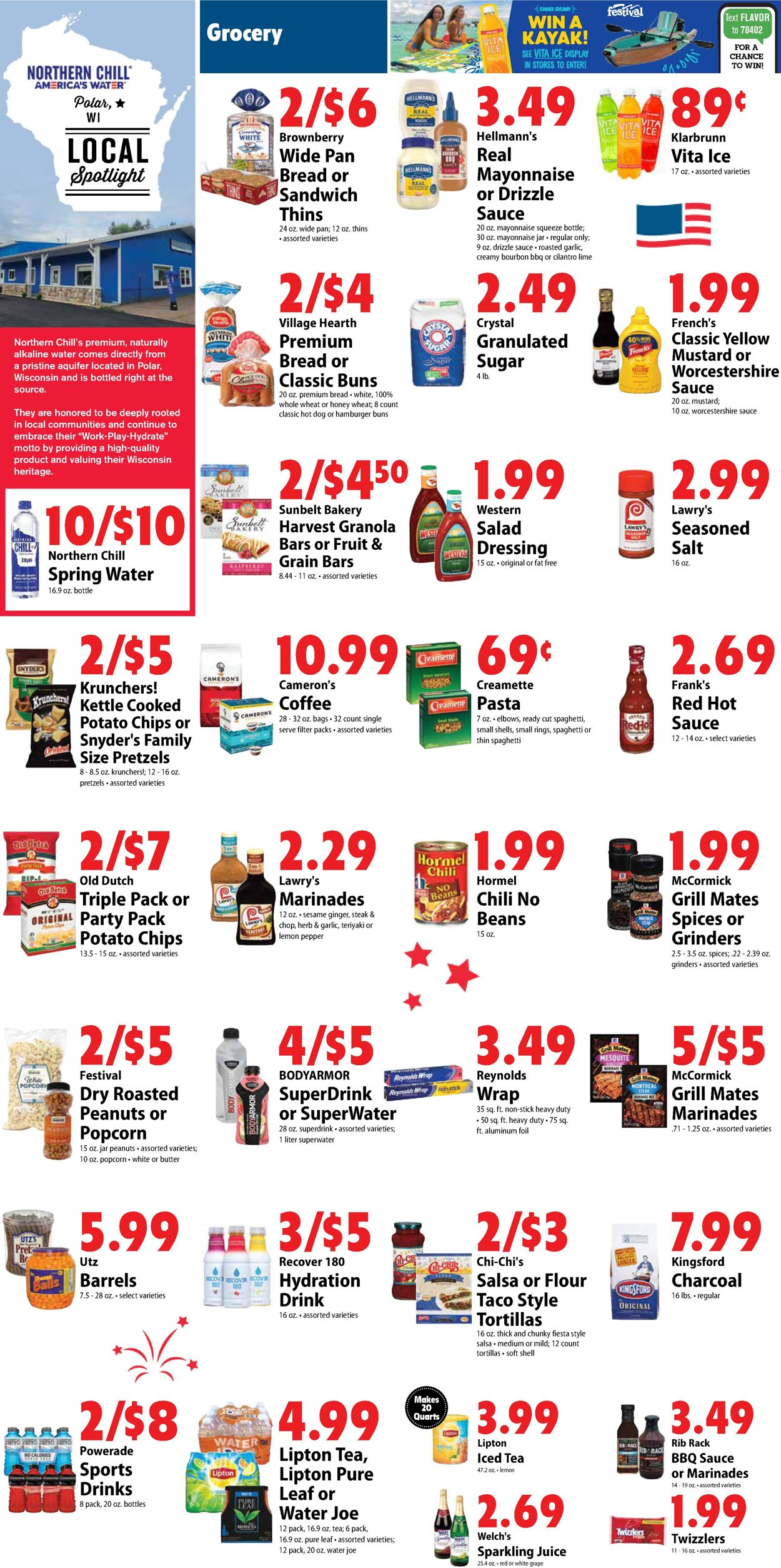 Catalogue Festival Foods from 06/30/2021